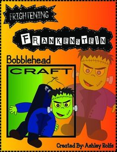 Put a little fun SCARE into your classroom with these cute Frankenstein Bobbleheads!All you need is this print out, one string, and two small beads for each student!!They will LOVE to watch their creepy Franksteins bobble about!  And, kids can color their bobble heads to match their imaginations!This would make for a great fall party craft, at home or in the classroom!Please let me know how this worked for you!! :)Customer Tips: How to get TPT credit to use on future purchases:       Please…