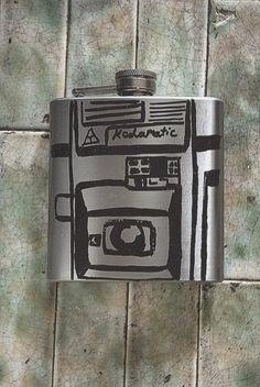 Kodamatic camera flask#photography #camera @Jill Mott