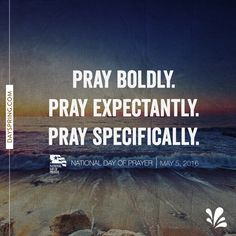 Pray Boldly