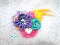 Jual Aksesoris Jilbab Handmade - Bros Kain Cantik 2014Jual Aksesoris Jilbab Handmade - Bros Terbaru 2014