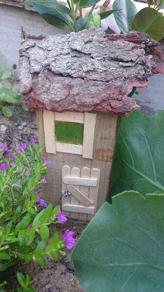 Fairy house in outside garden by Gerda v.d Westhuizen