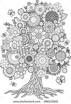Coloring Book For Adult. Doodles For Meditat. Coloring Book For Adult. Doodles For Meditation Stock Vectors and millions of other royalty-free stock photos, ill. Mandala Coloring Pages, Coloring Book Pages, Printable Coloring Pages, Coloring Sheets, Flower Coloring Pages, Free Adult Coloring, Colouring Pages For Adults, Coloring Pages For Grown Ups, Spirograph