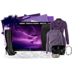 """Lightning Storm"" by jessicaleila on Polyvore"