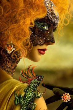 This is stunning <3 The fiery red hair red reminds me of the beautiful Florence Welch