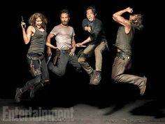 Posters oficiales de la quinta temporada de 'The Walking Dead' - Voxpopulix.com