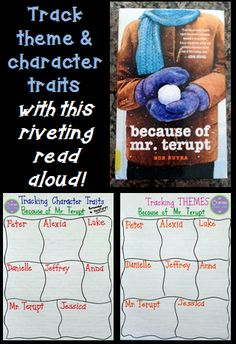 A wonderful book for a 4th-6th grade classroom!  This blog post shares how you can track theme and read aloud as you read from each character's perspective throughout the book.  (Enter the giveaway to WIN the book between 10/12 and 10/15!)