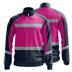 Sublimated Zip Front Workwear Jacket 002 - Custom Made Workwear Hi Vis Workwear, Work Uniforms, Bowling Shirts, Work Clothes, Work Wear, Perfect Fit, Custom Made, Long Sleeve, Shopping
