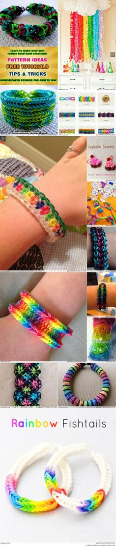 Amazing Rainbow Loom Ideas