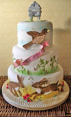 Bee mine - by niceicing @ CakesDecor.com - cake decorating website