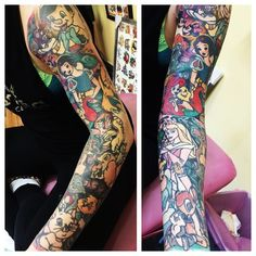 Disney sleeves