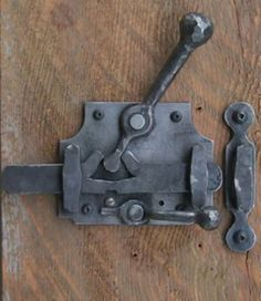 hand forged door lock