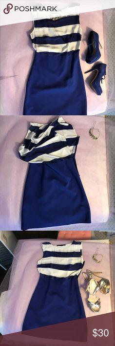 Zara Stripe Dress Sz S Zara Stripe Dress Sz S Zara Dresses