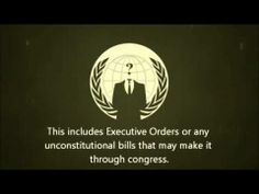 ANONYMOUS Declaration of Freedom Nov 5 2013