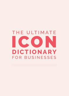 Icons can help portray an idea and dress up a website. Sharing more ideas here!