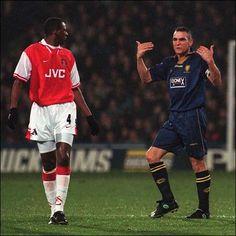 Vinnie Jones vs. Arsenal Vinnie Jones, Seek And Destroy, Sheffield United, Leeds United, Wimbledon, Premier League, Bad Boys, Arsenal, Hot Guys