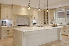 Schon Cream Cabinets Marble Countertops   Google Search