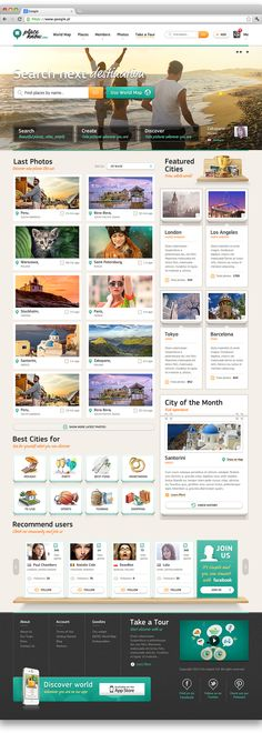 PlaceKnow.com Website and mobile app