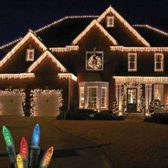 Outdoor christmas light display ideas lighting pinterest top 46 outdoor christmas lighting ideas illuminate the holiday spirit aloadofball Image collections