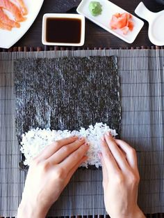 Learn how to make sushi rice recipe that is the best! Perfectly seasoned and sticky every single time. Use it to make sushi rolls or sashimi at home. Best Sushi Rice, Sushi Rice Recipes, Easy French Bread Recipe, Homemade French Bread, Southwest Chicken Soup, Thai Chicken, Chicken Salad, Baked Chicken, Chicken Recipes
