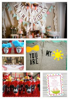 Fabulous 1st Birthday Party Ideas for Twins! via blog.rightstart.com