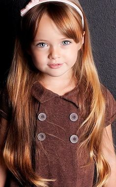 Little Girl Long Layered Haircuts   Easy hairstyles for girls (30 photos)   Gorod Mod Magazine