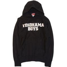 [FUN] YOKOHAMA BOYS PARKA / BLACK