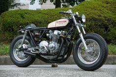 Honda CB750 Brat Style Eara - Streetride #motorcycles #bratstyle #motos   caferacerpasion.com