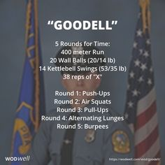 Lesser Known CrossFit Hero Workouts to Honour Fallen Soldiers Crossfit Hero Workouts, Crossfit At Home, Kettlebell Circuit, Wod Workout, Kettlebell Training, Kettlebell Swings, At Home Workouts, Murph Workout, Kettlebell Benefits