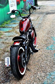 'Jaimes Cheetha Print' Harley-Davidson XL1200 Sportster #harleydavidsonsportsterbobber #harleydavidsonsporster