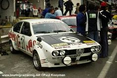 World Wide Touring Car Racing results Alfa Romeo Gtv6, Alfa Romeo Cars, Sport Cars, Race Cars, Alfa Gta, Automobile, Bad To The Bone, Spa, My Dream Car