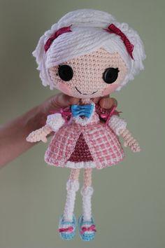 LALALOOPSY Suzette La Sweet Crochet Amigurumi Doll by Npantz22 on deviantART
