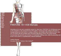 Couleur de l'année 2015 Pantone color of the year 2015