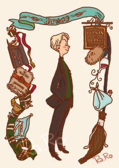 Draco Malfoy by RaRo81.deviantart.com