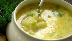 La combinación perfecta de sabores está en esta sopa de poro y papa.