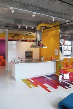 Pantone Loft #modern #kitchen #design
