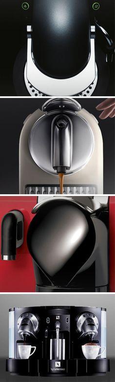 I want one...hint hint family!!! Nespresso