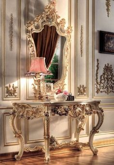 Victorian, Vanity, old fashioned, beautiful, fancy, royal