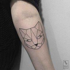 20 New Ideas makeup artist tattoo design body art Mini Tattoos, Cat Face Tattoos, Trendy Tattoos, Sexy Tattoos, Black Tattoos, Small Tattoos, Sleeve Tattoos, Tattoos For Women, Cool Tattoos