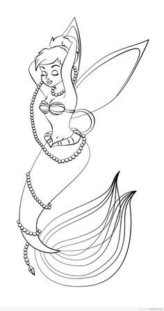 New Post Tinkerbell Christmas Coloring Pages