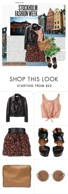 """""""Take me to Stockholm. :) ♥"""" by gagarose ❤ liked on Polyvore featuring Elle, Acne Studios, Givenchy, 3.1 Phillip Lim and Karen Walker"""