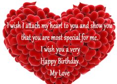 Birthday Wishes For Love Partner Birthday Images And Quotes intended for Love Birthday Quotes - Best Birthday Party Ideas Happy Birthday Love Quotes, Happy Birthday Wishes Photos, Happy Wedding Anniversary Wishes, Birthday Wishes For Lover, Happy Birthday Status, Romantic Birthday Wishes, Birthday Wishes For Myself, Birthday Wishes Quotes, Birthday Messages