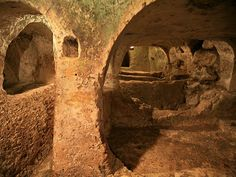 Discover Maltese Catacomb Complexes in Rabat, Malta: Burial grounds for more than bodies deep under the modern town of Rabat. Malta History, Capital Of Malta, Roman City, Underground Cities, Complex Systems, Catacombs, Archaeological Site, Maltese, Medieval