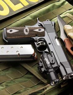 Kimber Tactical Entry II.  Beautiful and Bad