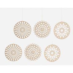 Papieren ornamenten *Housedoctor* - CQstijl.nl -