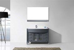 Virtu MS-509-S-GR Ava Single Bathroom Vanity Cabinet Set 48 Grey Review https://modernbathroomvanitiesreviews.info/virtu-ms-509-s-gr-ava-single-bathroom-vanity-cabinet-set-48-grey-review/