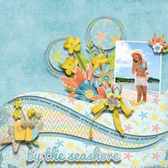 Summer Time 6 Pack plus FWP quick pages by Lisete @PBP https://www.pickleberrypop.com/...p;cat=145&page=1 template by SWL photo by Marina Pershina
