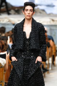 Jamie Bochert for Chanel Fall 2013 Couture Collection
