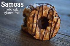 #Gluten-Free #Samoas Girl Scout Cookies