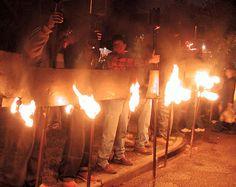 Flambeauxs- a Mardi Gras tradition.