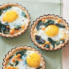 These egg dishes not only are the basis for a healthy delicious breakfast or brunch; they are fantastic for a light lunch or even as part of a hearty supper. Plus: try these classic brunch recipes